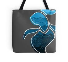 Swimming in the Abstract Tote Bag