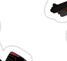 Red Hood Hunts Nightwing 2 Sticker