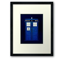 Blue Box Framed Print