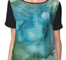 A 'Swirl' of lovely colours Chiffon Top