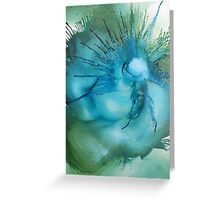 A 'Swirl' of lovely colours Greeting Card