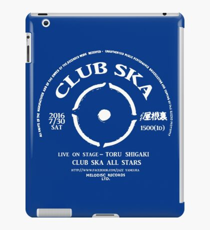 Club Ska All Stars iPad Case/Skin