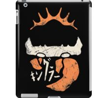Kingler (old orange) iPad Case/Skin