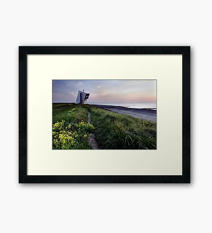 Rossall Point Tower Framed Print