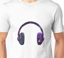 Space Headphones Unisex T-Shirt