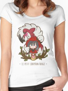 Le Petit Chaperon Rouge Women's Fitted Scoop T-Shirt