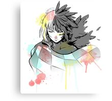 Howl watercolor Canvas Print