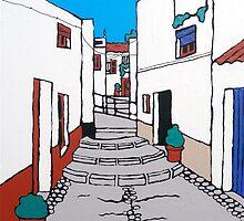 Village Steps by Adam Regester