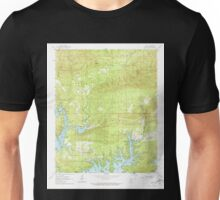 USGS TOPO Map Arkansas AR Avant 257915 1962 24000 Unisex T-Shirt