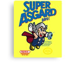 Super Asgard Bro! Canvas Print