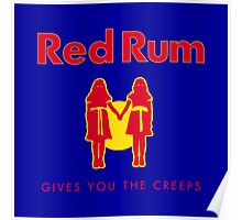 REDRUM gives you the creeps! (red) Poster