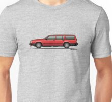 Volvo 740 745 Classic Red Unisex T-Shirt