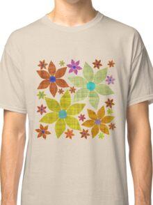 Dried Flower Fabric Print Classic T-Shirt