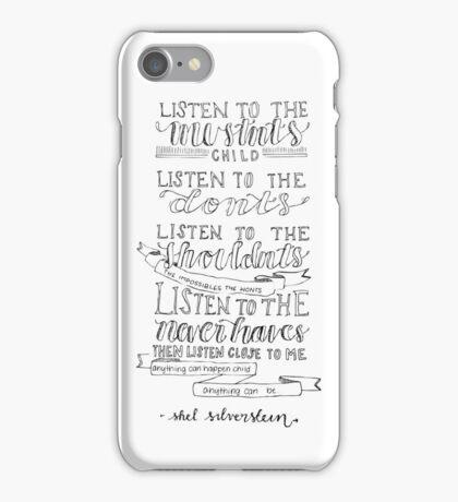 Shel Silverstein iPhone Case/Skin