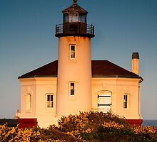 Coquille River Lighthouse by Gary Gray