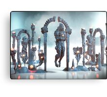 Mirror Segment Metal Print