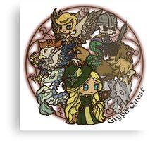 Cute Monsters Metal Print