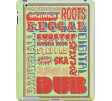 Roots Reggae iPad Case/Skin