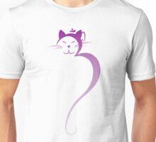 Om Kitty - Amethyst Fade Unisex T-Shirt