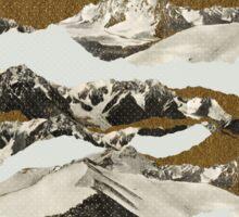 Golden Zugspitze // White Sticker