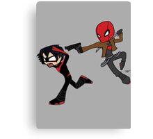 Red Hood Hunts Nightwing 3 Canvas Print