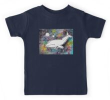 Space Whale for Michael Kids Tee