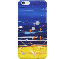 Abstract Beach Landscape  iPhone Case/Skin