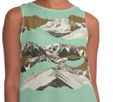 Golden Zugspitze // Turquoise Contrast Tank