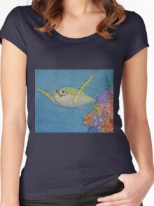 Sea Turtle Women's Fitted Scoop T-Shirt