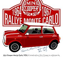 Classic 1994 Mini Cooper Monte Carlo by car2oonz