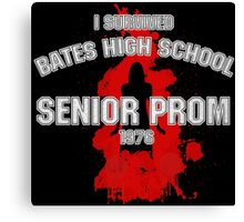Bates High School Prom : Carrie Canvas Print