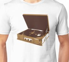 Old School Record Player Unisex T-Shirt