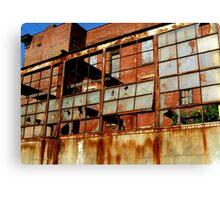 Rusty Building in Cincinnati Canvas Print