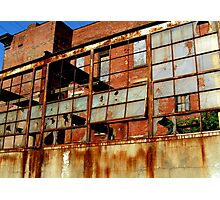 Rusty Building in Cincinnati Photographic Print