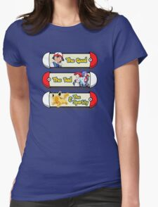 The Good, the Bad & the Sparkly Womens Fitted T-Shirt