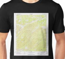 USGS TOPO Map Arkansas AR Fountain Lake 258507 1972 24000 Unisex T-Shirt