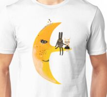 We and mr. Moon Unisex T-Shirt