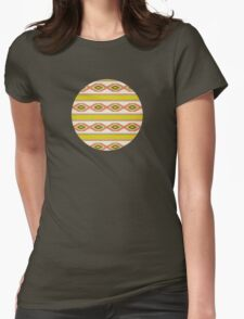Navajo traditional pattern Womens Fitted T-Shirt