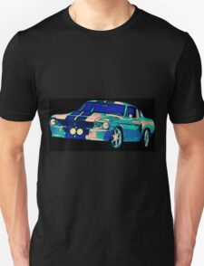 Shelby Mustang Pop Art Unisex T-Shirt