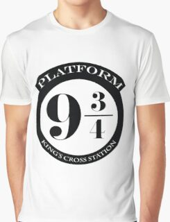 Platform 9 3 4 Graphic T-Shirt