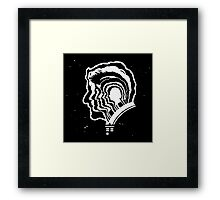 scientist laboratory Framed Print