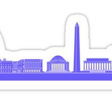 DC Skyline Sticker Sticker