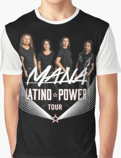 mana latino power tour 2016 Graphic T-Shirt