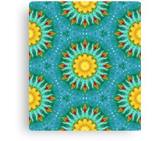 From Sunflowers to Stars #4 Canvas Print