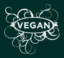 Cool Vegan Distressed Art by thepixelgarden