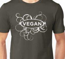 Cool Vegan Distressed Art Unisex T-Shirt