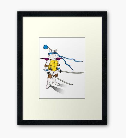 Leo the Moogle Framed Print