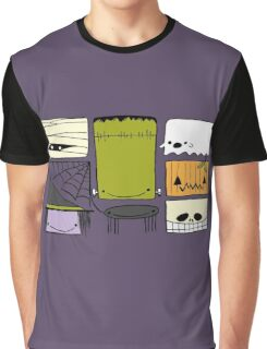 Happy Halloween Friends Graphic T-Shirt