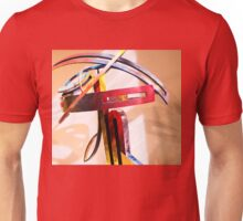 Metal Curves in Colours Unisex T-Shirt