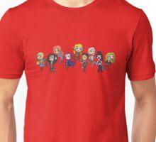 Women of DC Chibi Unisex T-Shirt